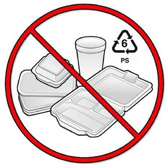 UL styrofoam ban